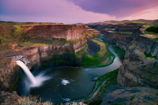 Palouse Falls 1 by Dean Huggins