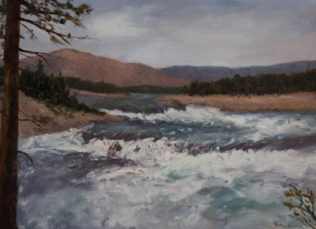 """Kettle Falls"" by Nora Egger"