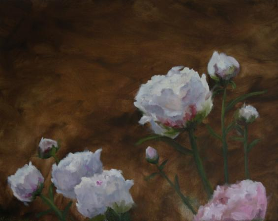 Peonies by Nora Egger