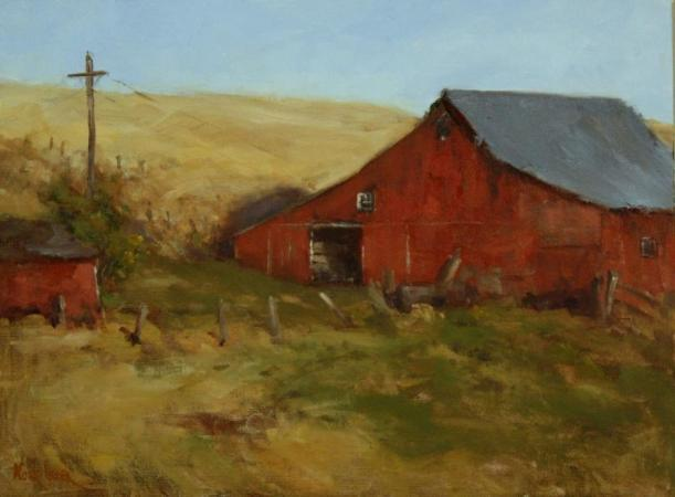 Coulee Barn by Nora Egger