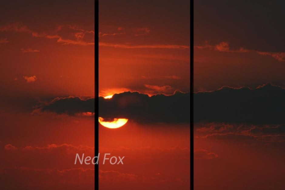 sunset by NED FOX