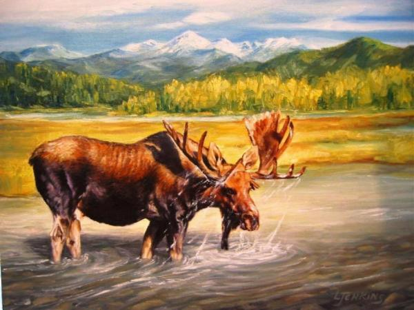 DENALI MOOSE CROSSING by LORETTA JENKINS