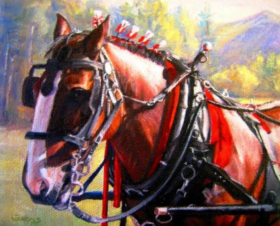 DRAFT HORSE by LORETTA JENKINS
