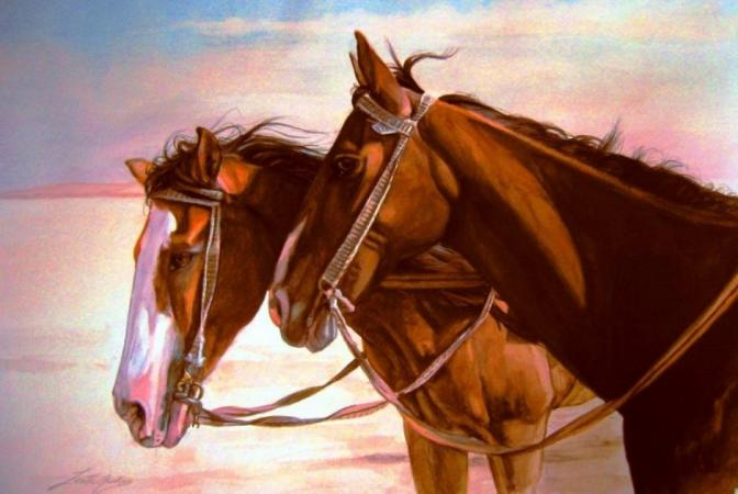 HORSES IN EGYPT by LORETTA JENKINS