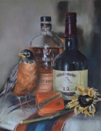 Redbreast by debbie hughbanks