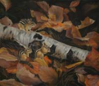 Autumn Forage by debbie hughbanks