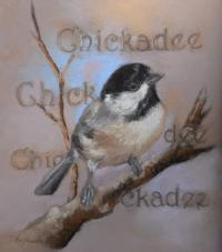 Chickadee by debbie hughbanks