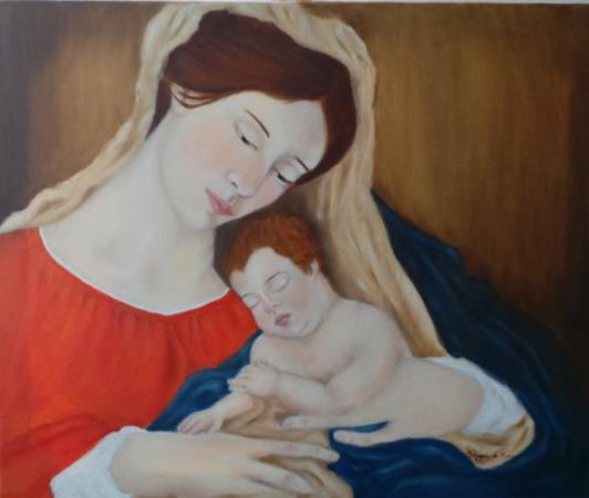 Mary and Baby Jesus on Flootie.com