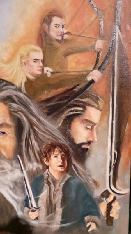 The Hobbit: The Desolation of Smaug by Marcela Rogel de Pepper on Flootie.com