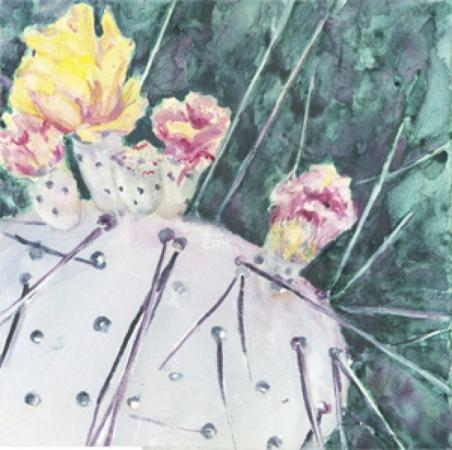Prickly Pear by Cheryl Halverson