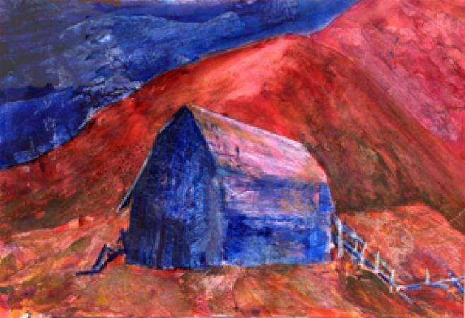 Midnight Barn by Cheryl Halverson