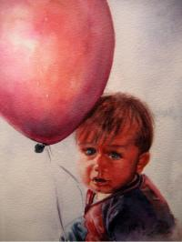 Red Balloon by Vicki A. West