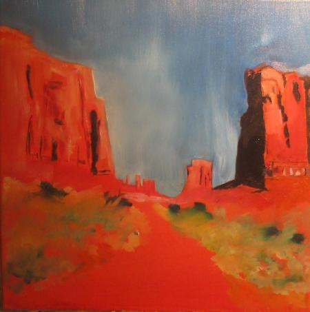 Monument Valley by Chuck Harmon