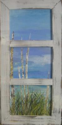 Birches (triptych) by Chuck Harmon on Flootie.com
