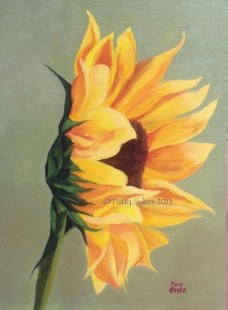 One Sunflower by Patty Sykes