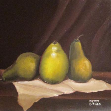 Pears by Patty Sykes