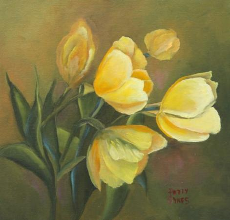 Yellow Tulips by Patty Sykes