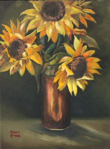 Sunflower Still Life by Patty Sykes