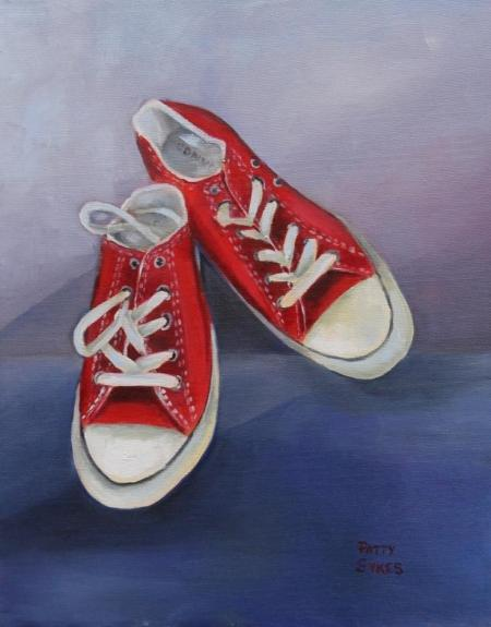 Chloe's Converse by Patty Sykes