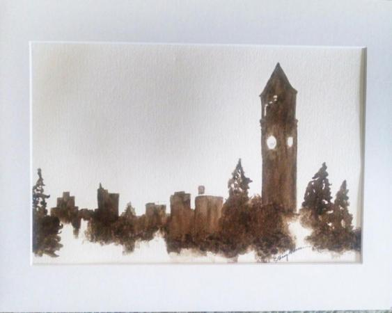 Spokane Skyline by Ginny Brennan on Flootie.com