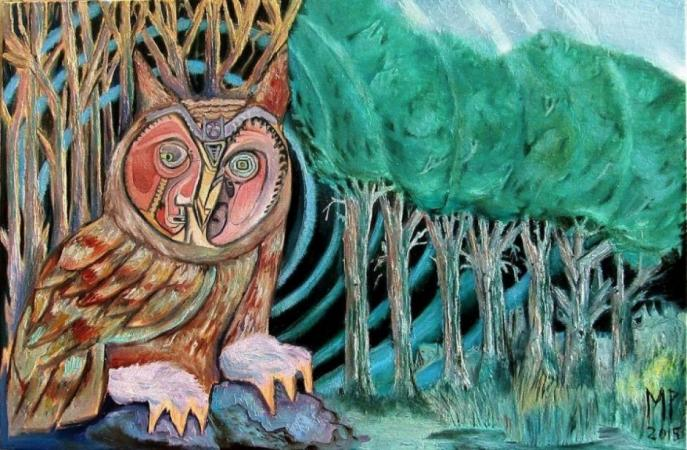 Owl Echolocation by mitchell pluto