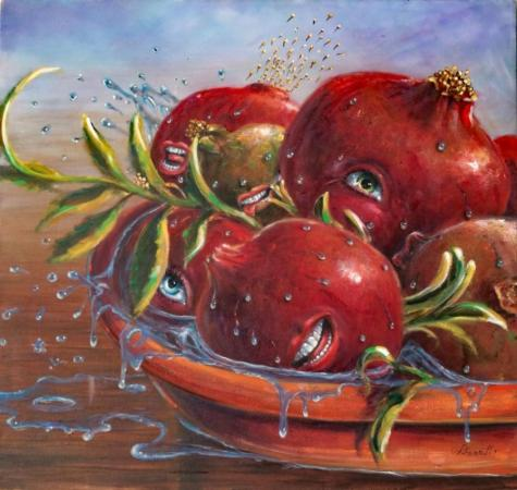 Pomegranate's Hot Tub Orgy by Darrell Wilcox