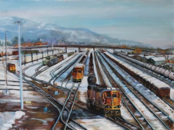 The Switch Yard by Sandy Aronson
