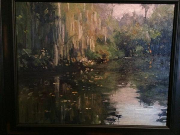 Louisiana Bayou by Kathleen Densley