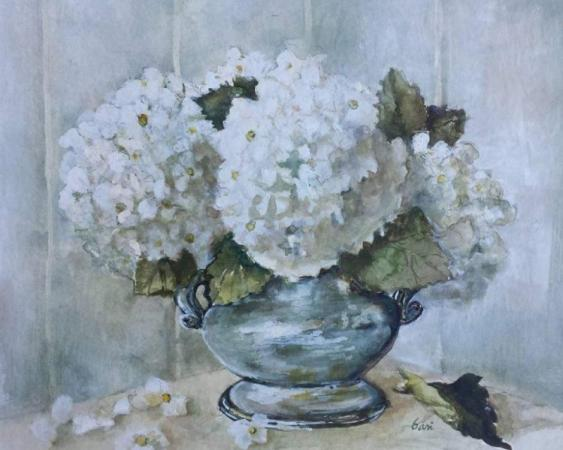 French Country Flowers by bari cordia federspiel