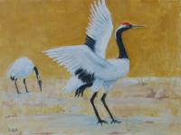 Japanese Cranes by Sandy Aronson on Flootie.com