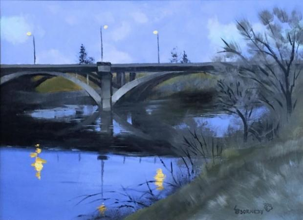 Spokane River Nocturne by Ladd Bjorneby on Flootie.com