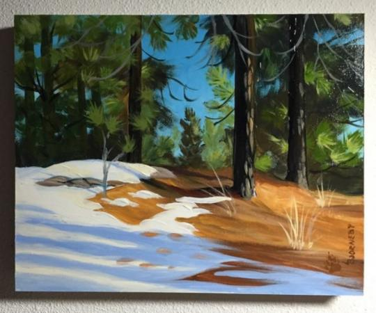 Snow in Retreat by Ladd Bjorneby on Flootie.com
