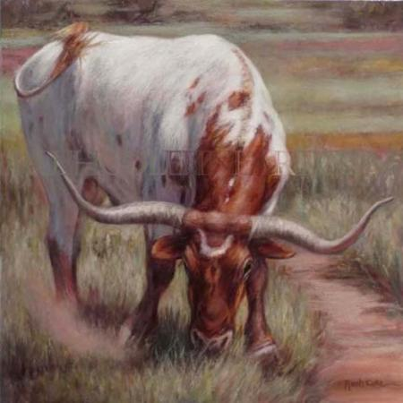 """SPRING BULL"" by Rush Cole"