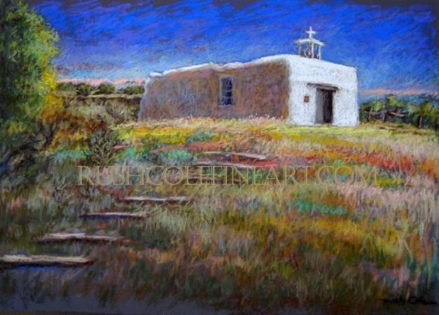 """LA CAPILLA DE SAN ANTONIO""  by Rush Cole"