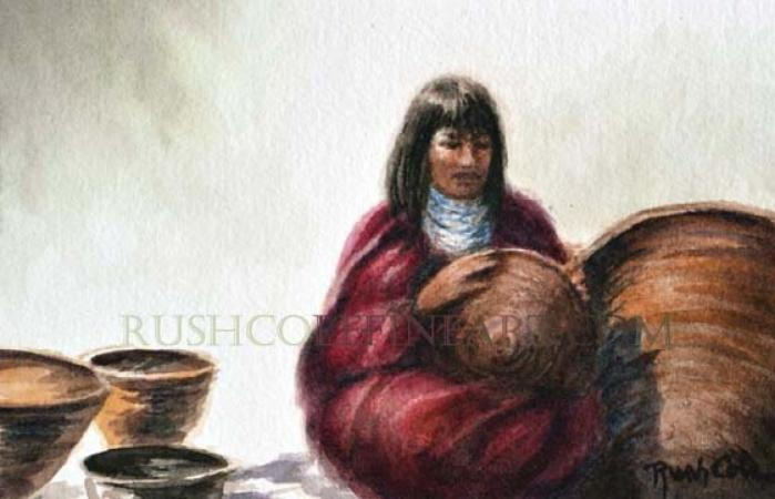 """THE BASKET MAKER"" by Rush Cole on Flootie.com"