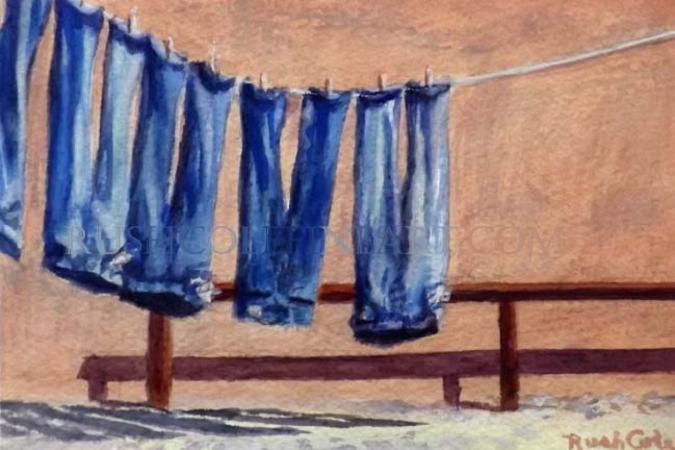 """SOUTHWEST LAUNDRY DAY"" by Rush Cole"