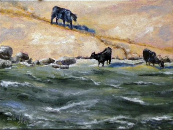 Cows on the Snake by Darrell Sullens on Flootie.com