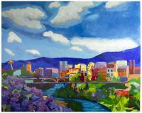 Spokane In Color by Tracy Dupuis-Roland
