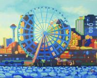 Seattle In Color by Tracy Dupuis-Roland on Flootie.com