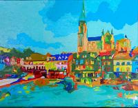 Cork In Color by Tracy Dupuis-Roland