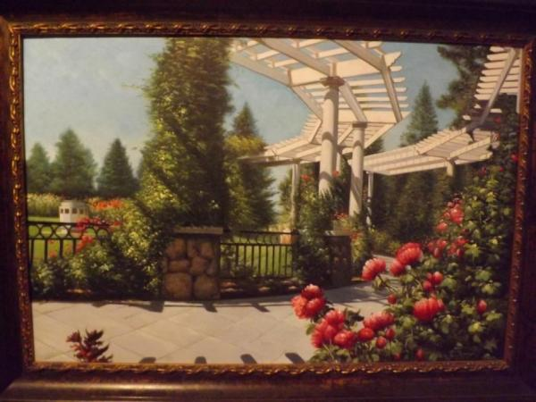 Gazebo Rose Gardem by fritz bachmeyr