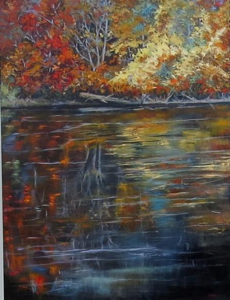 Autumnal Reflections by Sandy Aronson