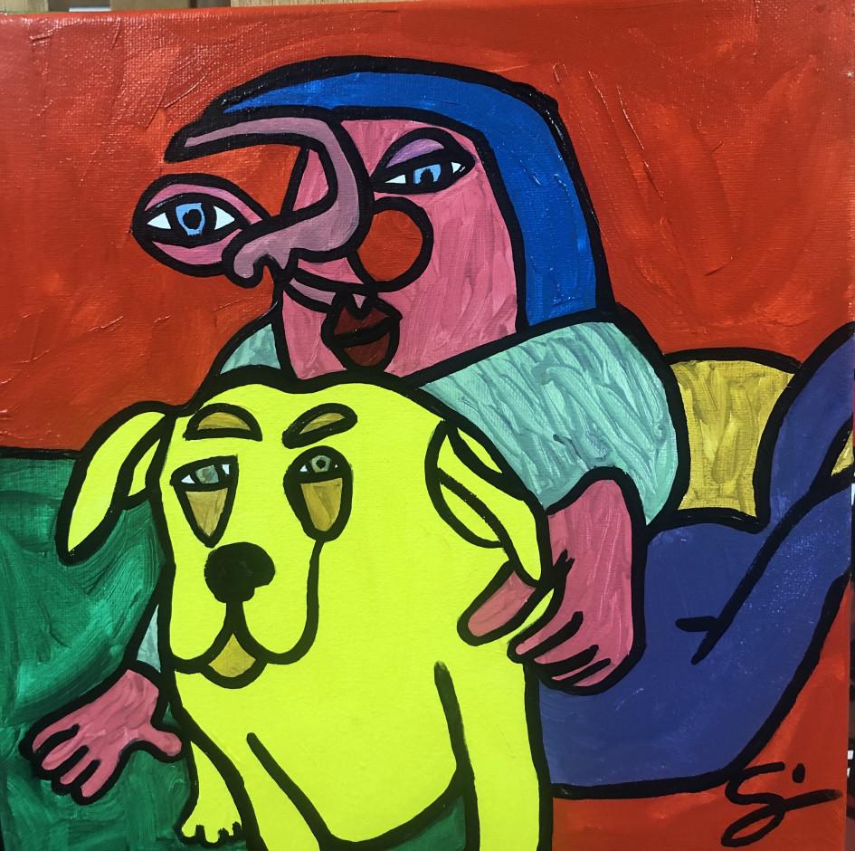 Yellow Dog by Sam White   Flootie.com