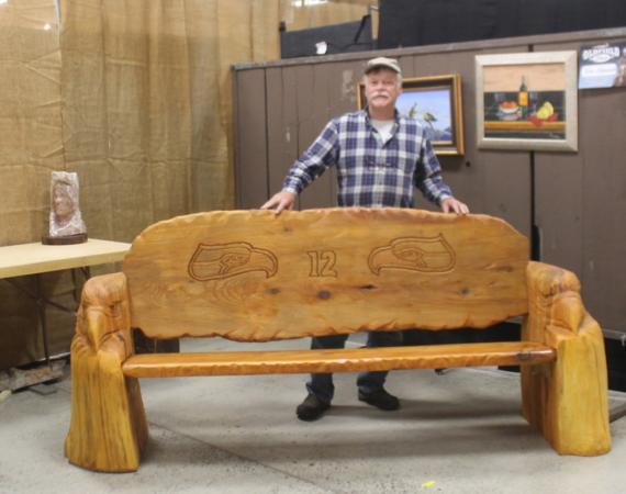 Seahawk Bench by ron adamson
